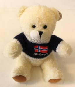 Bilde av Isbjørn hvit 17cm Souvenir/kosedyr