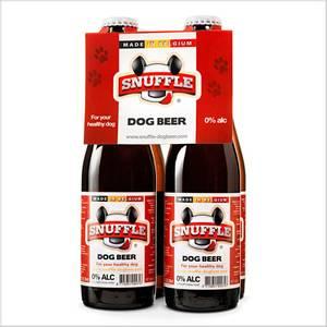 Bilde av Hundeøl 25cl M/Biff-Smak Glassflaske