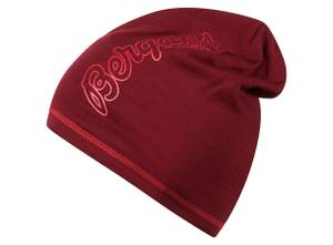 Bilde av Bergans Bloom Wool Beanie Burgundy/Red
