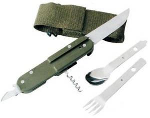 Bilde av Bestikksett Army Kniv
