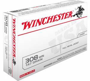 Bilde av Winchester FMJ 308 147gr