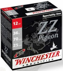 Bilde av Winchester ZZ Pigeon 12/70 36g 25pk