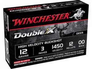 Bilde av Winchester Double-X Magnum BuckShot 12/76 5 pk