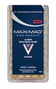 Bilde av CCI 22WMR MAXI-MAG Solid