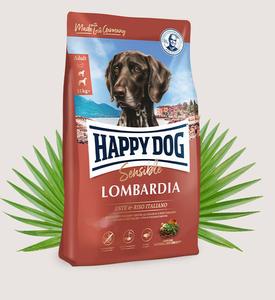 Bilde av Happy Dog Supreme Sensible Lombardia M/And og Ris