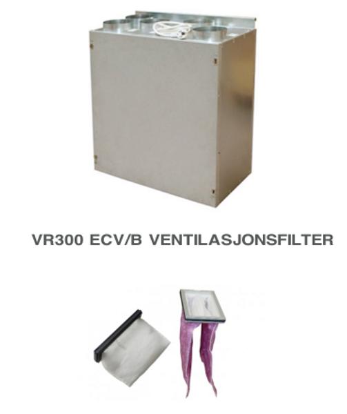 Bilde av Komplett filtersett til Villavent/ Systemair VR 300 ECV/B