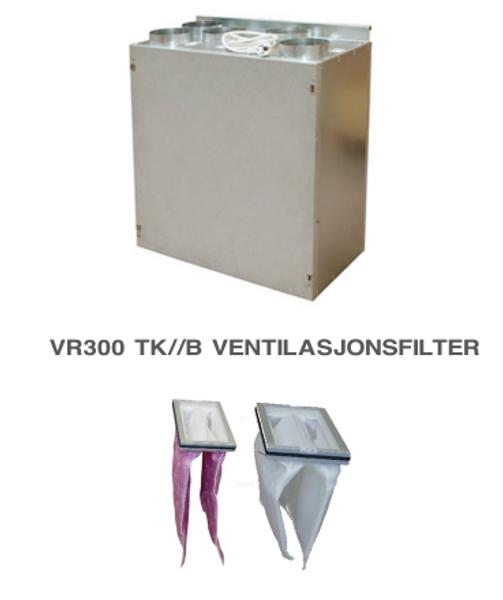 Bilde av Komplett filtersett til Villavent/ Systemair VR 300 TK/B