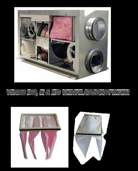 Bilde av Komplett filtersett til Villavent/ Systemair VR 400 DC, E & EC