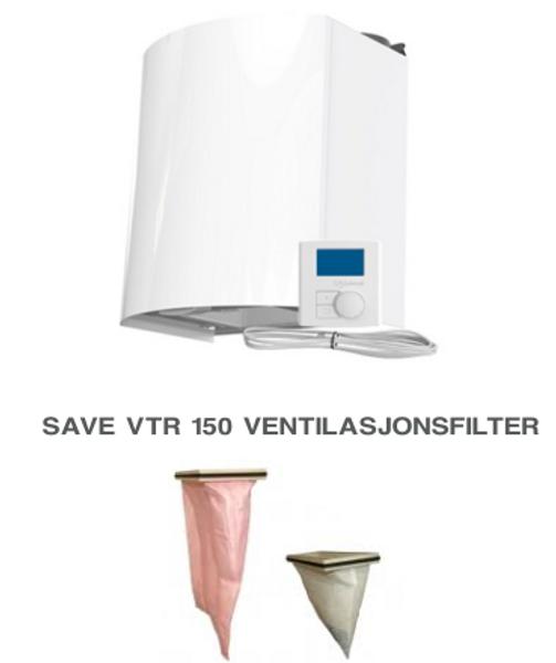 Bilde av Komplett filtersett til Villavent/ Systemair - SAVE VTR 150