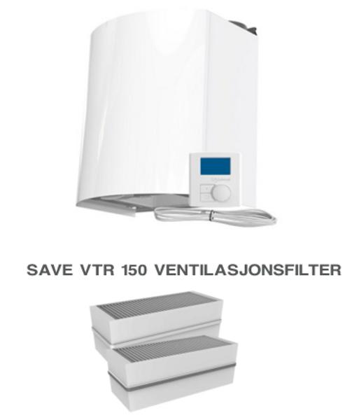 Bilde av Komplett filtersett til Villavent/ Systemair - VTR 150 Papp