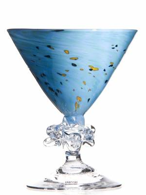 Kunstglass - Kornblomst
