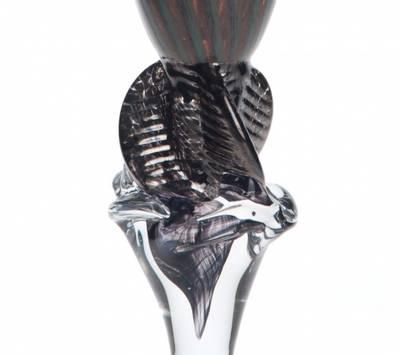 Kunstglass - onyx brun