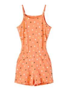Bilde av Name it, Nkfvigga oransje strap suit m/ prikker