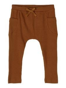 Bilde av Name it, Nbmbillaz brun ribbet bukse