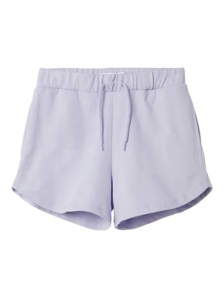 Name it, Nkfjamay pastell lilla sweat shorts