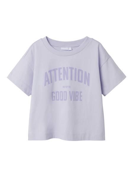 Name it, Nkfjaylo pastell lilla t-skjorte