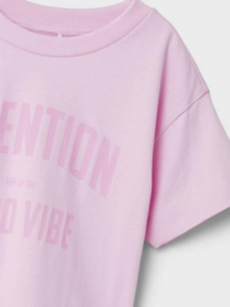 Name it, Nkfjaylo pastellrosa t-skjorte