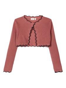 Bilde av Name it, Nmfrabia dyp rosafarget strikket bolero