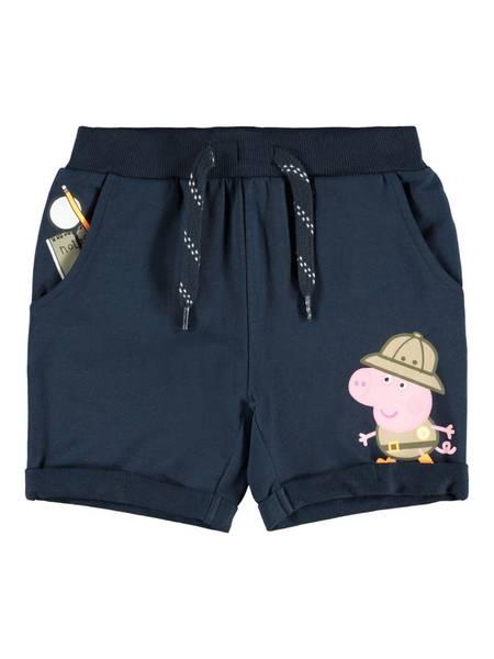 Name it, Nmmpeppapig bertel mørkeblå  shorts