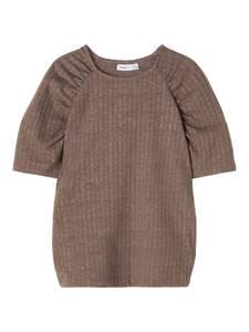 Bilde av Name it, Nkfnolaa brun t-skjorte