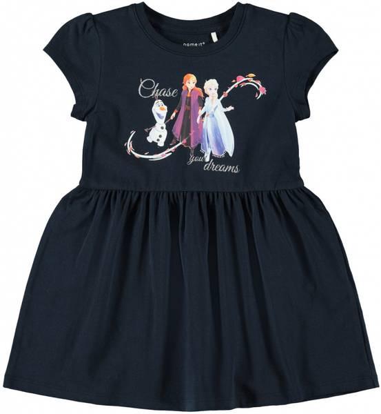 Name it, Nmffrozen mørkeblå kjole