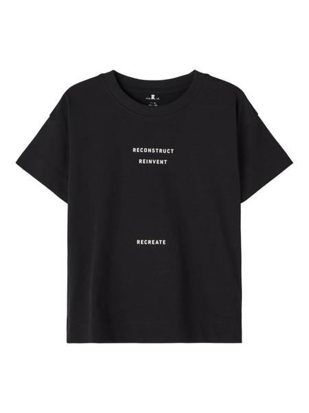 """Name it, Nkmjant svart """"recreate"""" t-skjorte"""