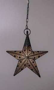 Bilde av Adventstjerne sort/gull