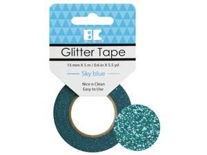 Bilde av Glitter Tape Sky Blå