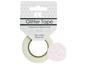 Bilde av Glitter Tape hvit