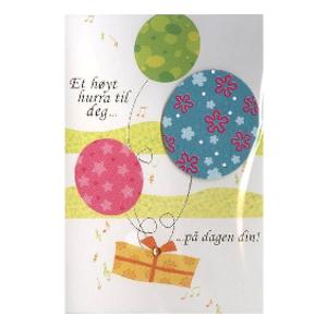 Bilde av Minikort Ballonger