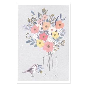 Bilde av Minikort Blomsterbukett