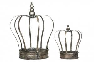Bilde av Krone til telys Stor Sølv