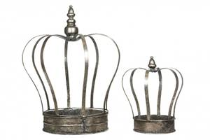 Bilde av Krone til Telys liten sølv