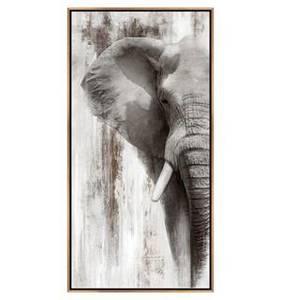 Bilde av Bilde Canvas print Elefant 60