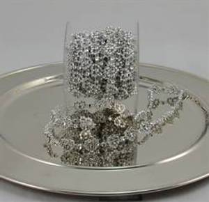 Bilde av Bling-remse blomst sølv,
