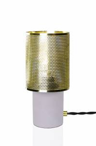 Bilde av bordlampe Rumble messing H 20