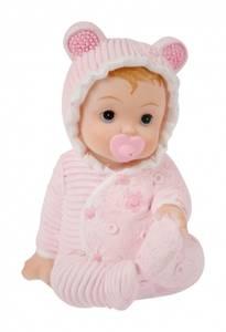 Bilde av Baby sittende lys rosa 7 cm