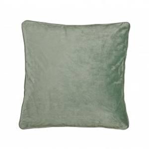 Bilde av Putetrekk Velvet Kakigrønn