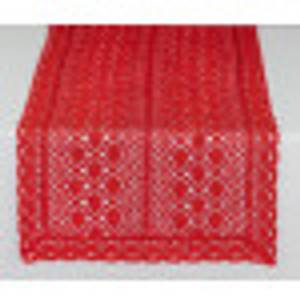 Bilde av Løper Rød/glitter 23x150 cm