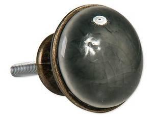 Bilde av Knott Grå/antikk 3x2,2 cm