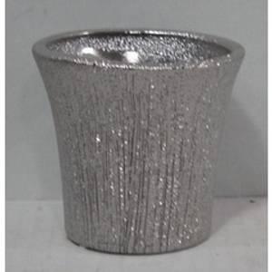 Bilde av Minipotte sølvstripet 8x7,5