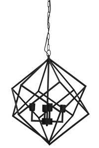 Bilde av Taklampe Drizella matt sort Ø