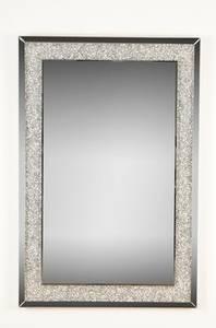 Bilde av Speil m/sølv krystaller