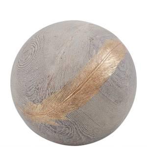 Bilde av Decoration ball feather Ø 15