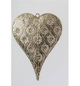 Bilde av Hjerte metall orientalsk