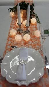 Bilde av Englevev/dekorløper, oransje,