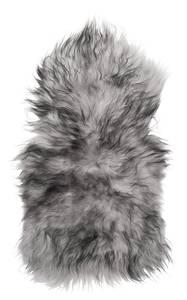 Bilde av Islandsk lammeskinn grå/hvit