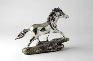 Bilde av Hest antikksølv
