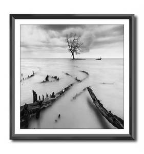 Bilde av Bilde m/sort ramme 50x50 cm