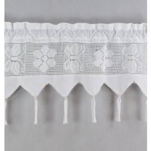 Bilde av Gardinkappe Kondor Hvit 30 cm